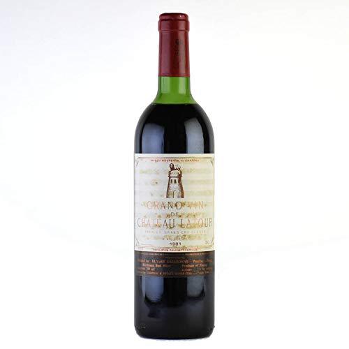 シャトー ラトゥール 1981 ラベル不良 フランス ボルドー 赤ワイン