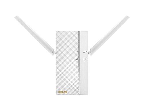 ASUS AC1750 RP-AC66 - Repetidor Inalámbrico Dual-Band Gigabit (modo punto de acceso, hasta 1750 Mbps, porto RJ45 BaseT para LAN, 64 MB RAM), Blanco