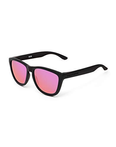 HAWKERS Gafas de sol, NEGRO/FUCSIA, One Size Unisex-Adult