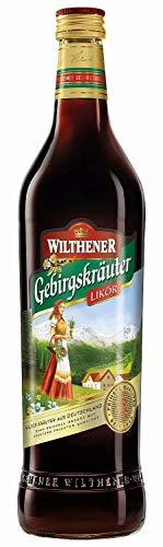 Wilthener Gebirgskräuter Kräuterlikör 30 %, milder Likör aus Gebirgskräutern, deutscher Halbbitterlikör Kräuter (3 x 0.7 l)