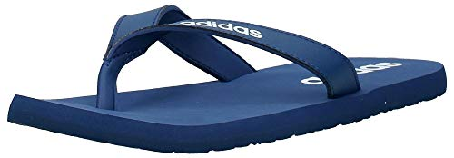 adidas Eezay Flip Flop, Scarpe da Ginnastica Uomo, Tech Indigo/Ftwr White/Tech Indigo, 42 EU