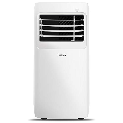 MIDEA MAP08R1CWT 3-in-1 Portable Air Conditioner, Dehumidifier, Fan, for Rooms up to 150 sq ft, 8,000 BTU (5,300 BTU SACC) control with Remote