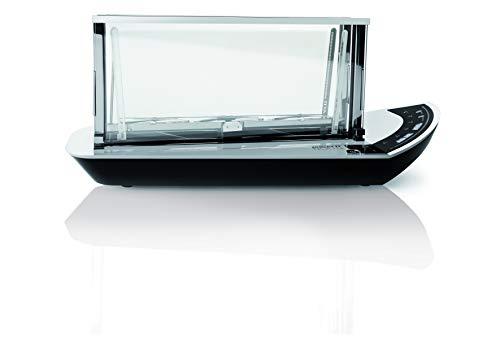 BUGATTI, NOUN, Smart Kochfeld mit Infrarot-Kochsystem, einstellbare Temperatur von 50 ° bis 300 °, Touchscreen-Bedienfeld, 2400 W.