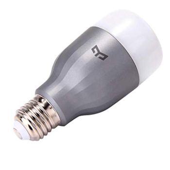 Ampoule LED Xiaomi Mi LED, WiFi (pas de HUB requis), compatible avec Google Home, Alexa et Apple HomeKit, E27, 10 W, 800 lm blanc