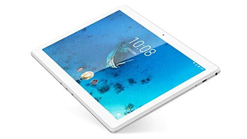 Lenovo Tab M10 Tablet, Displau 10,1' HD IPS, Processore Qualcomm Snapdragon 429, 32GB espandibili fino a 256GB, RAM 2GB, WiFi, Android 9, Bianco (Polar white)