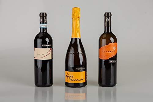 Trittico di 3 bottiglie cantina Vigna Roda   Fior d'Arancio Spumante, Aroma 2.0, Espero   Veneto