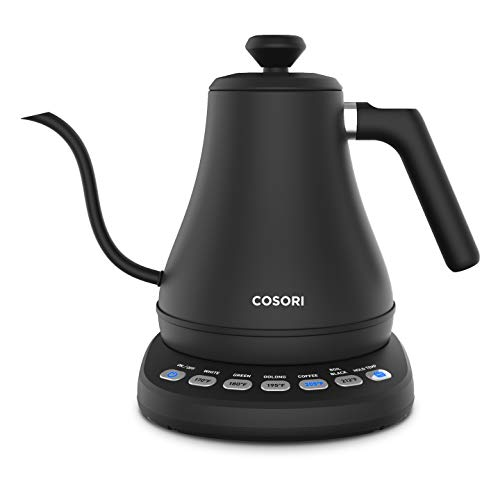 COSORI Electric Gooseneck Kettle with 5 Variable Presets,...