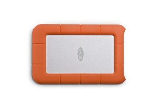 LaCie 301558 Rugged MINI Hard disk Esterno, Arancione/Grigio,1TB