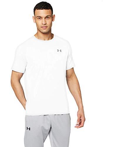 Under Armour T-shirt Uomo Tech,WHT/OVG,SM