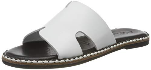 Tamaris 1-1-27163-24, Mules Mujer, Blanco (White 100), 37 EU