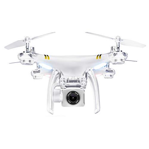 LJWRJ Drone Fotografia Aerea HD Professionale Doppio GPS Posizionamento Lunga Durata della Batteria Modello di aeromodello per Adulti Intelligenti Aerei Telecomando - 720 Fotografia Aerea - Bianco