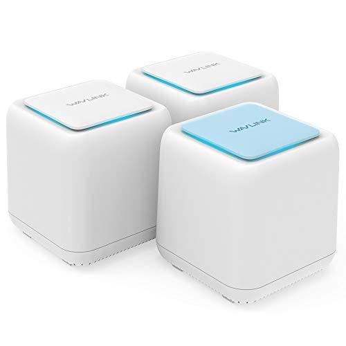 WAVLINK メッシュ WiFi 無線LANルーター AC1200デュアルバンド866+300Mbps 3ユニットセット メッシュ Wi-Fi...