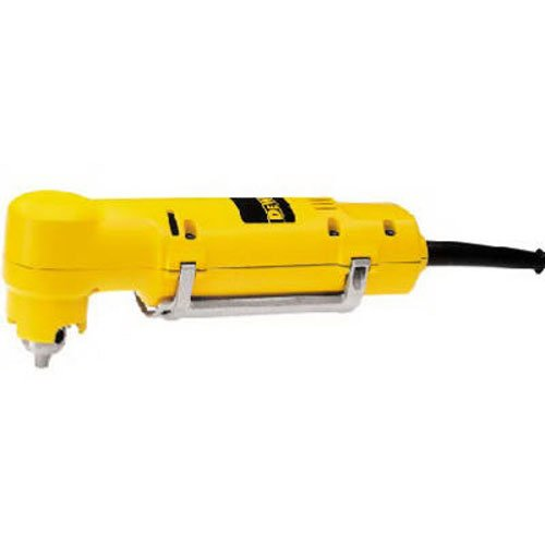 DEWALT Electric Drill, 3/8-Inch, Variable Speed Reversible, Right Angle...