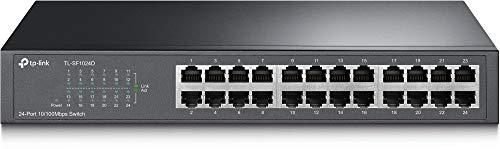 TP-Link TL-SF1024D V2.0 Switch Desktop 24 Porte...