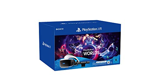 Sony Interactive Entertainment PS VR Starter Pack inkl. PS VR-Headset / PS Camera / PS Camera-Adapter / VR Worlds Gutscheincode