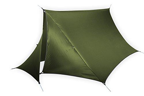 ENO - Eagles Nest Outfitters HouseFly Rain Tarp, Ultralight Camping Tarp, Amber