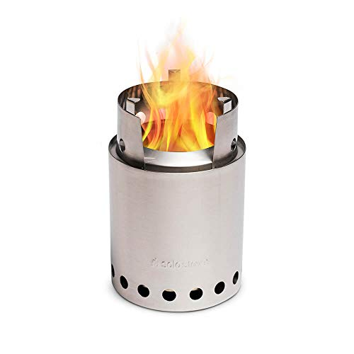Solo Stove Titan - 2-4 Person Lightweight, Wood Burning, Compact Stove Kit