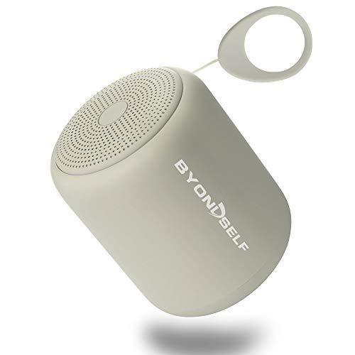 Mini Enceinte Bluetooth Portable,BYONDSELF Haut-Parleur sans Fil avec Basse...