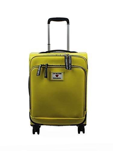 Love Moschino JC5100PP1CLC1 Damen-Trolley gelb