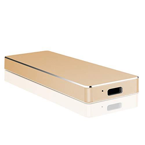 Hard Disk 2 TB Esterno, Hard Disk Esterno USB 3.1 Type-C per PC, Mac, Xbox, Desktop, Laptop,...