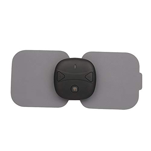 ABS Hals Aufkleber EMS Muslce Neck Trainer Stimulator Massagegerät mit Batterie Smart Use Unisex Patch Schwarz