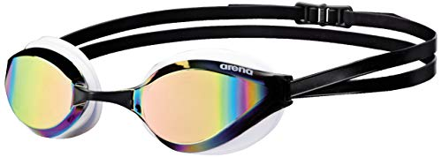 Arena Python Mirror, Occhialini da Gara Unisex Adulto, Multicolore (Copper/White), Taglia Unica