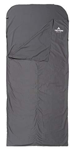 TETON Sports XL Sleeping Bag Liner; A Clean Sheet Set Anywhere You Go