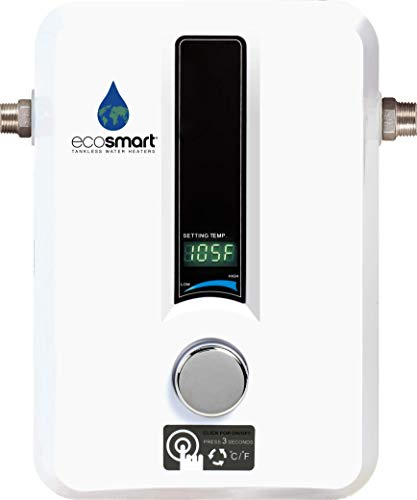 EcoSmart ECO 11 Electric Tankless Water Heater, 13KW at 240 Volts...