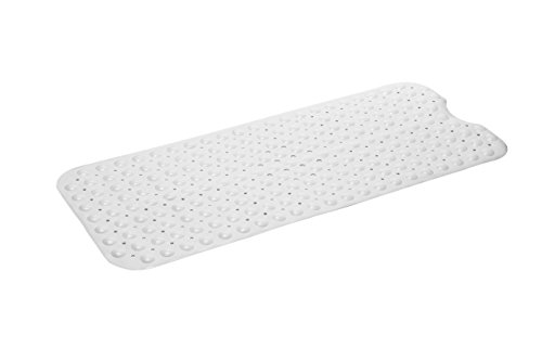 Simple Deluxe Slip-Resistant Bath Mat, Extra Long,...