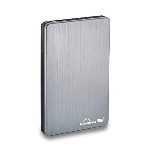 Blueendless Disque dur externe portable avec USB3.0 pour ordinateur de bureau et portable 6,3cm...