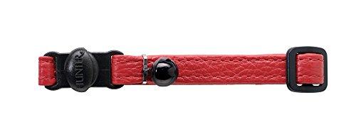 HUNTER H-92689 Collare per Gatti Capri, Rosso