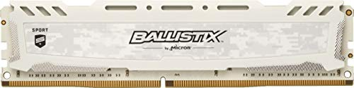 Crucial Ballistix Sport LT BLS16G4D32AESB 3200 MHz, DDR4, DRAM, Mémoire pour PC de Gamer, 16Go, CL16 (Gris)