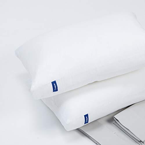 Casper Sleep Pillow for Sleeping Pack of Two, Standard, White
