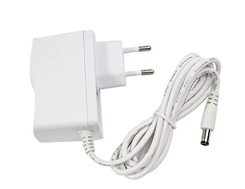 Fuente de alimentación blanca estabilizada 12V- 1Ah Ideal para cámaras de videovigilancia
