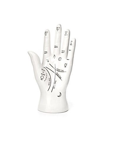 Kikkerland JK17 Palm Reader Jewelry Stand