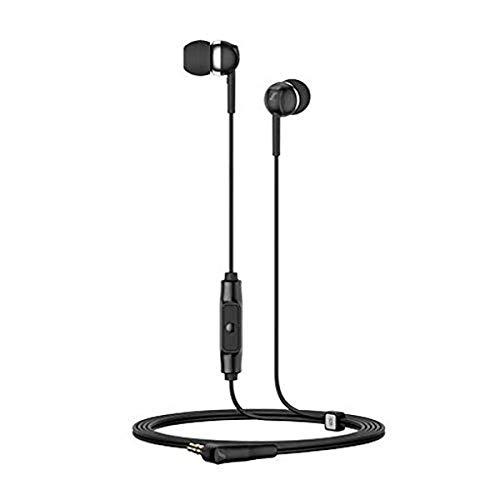 Sennheiser CX 80S Wired In Ear Headphone with Mic (Black)