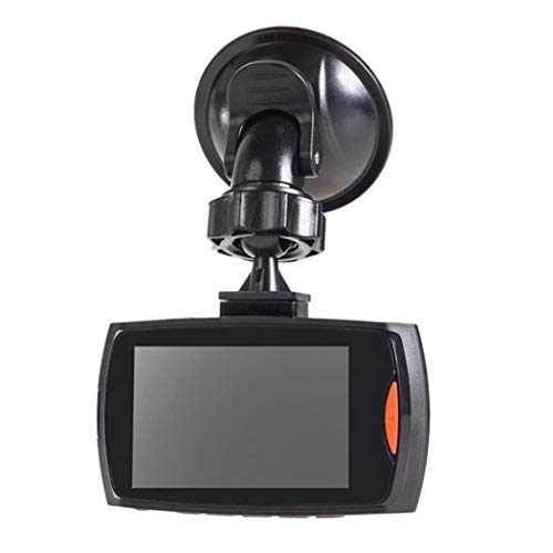 Yugiose Dash Cam 2.7''LCD Durable Practical HD 1080P Display Wide Angle Lens Car Driving Recorder,120° Wide Angle, In-Visor Video