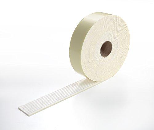 サンコー ズレない 安心 滑り止めテープ カーペット マット 用 4cm×10m おくだけ吸着 日本製 KJ-77