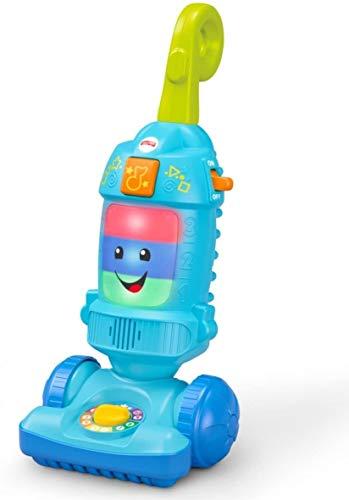 Fisher-Price FNR97 Lachen Lern-Staubsauger für Babys und Kleinkinder, Mehrfarbig