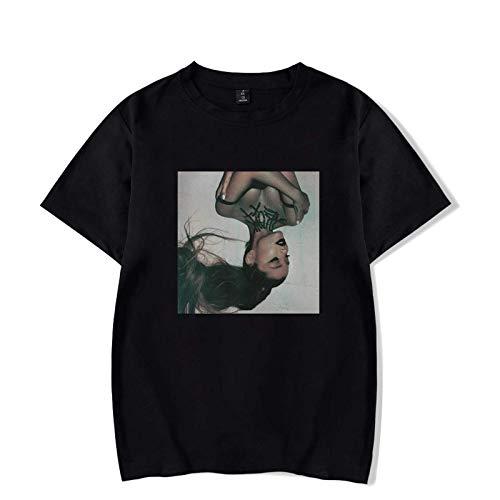 JFLY Ariana Grande Print Girls Boy T-Shirt Cute Shirt Casual Loose Singer Short Sleeve Pair Dresses XXS-4XL