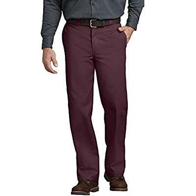 CLASSIC WORKWEAR: Our most popular work pant, these wrinkle and stain resistant cotton/poly blend twill pants are built for hard wear & easy care. The flattering design features a classic rise that sits comfortably at the waist with slightly tapered ...