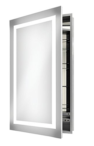 Electric Mirror Ambiance Mirrored Cabinet Line (23.25' W x 40' H x 4' D, LT)