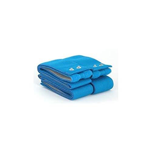 Globus G0480, Kit Fasce Elastiche Conduttive Fitness Top Unisex Adulto, Azzurro, Unica