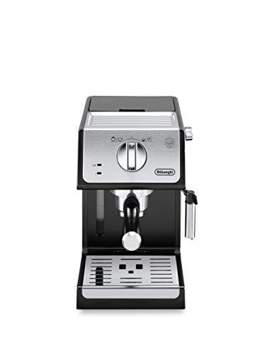 DeLonghi Dedica Style EC685.BK | Handmatig pistonapparaat | Voor gemalen koffie of pods | Capaciteit van 1 liter | Slechts 15 cm breed