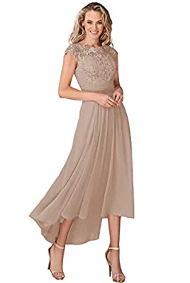 ♥ DRESS DETAIL: chiffon material, Cap Sleeves, Scoop Neck neckline, Ankle-Length Dress, Lace, Appliques, A-Line, with pocket,lace up closure on the back ♥ SIZE ATTENTION:Please check the size detail before you placed the order,our size is smaller tha...