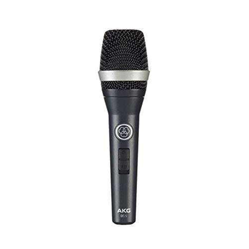 AKG D5S - Micrófono Dinámico (para voz, de mano), Negro