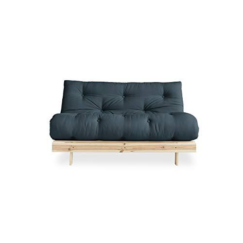 Divano letto Roots 140 di Karup Design divano letto futon a 2 posti in divano in legno naturale con...