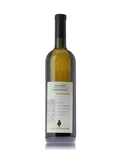 Trentino Chardonnay DOC 2018  Casata Monfort - Cassa da 3 bottiglie