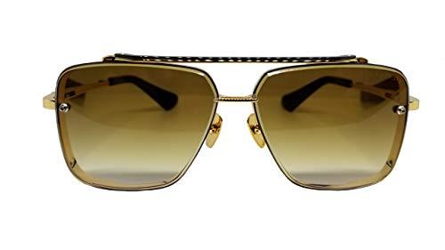 Dita Lunettes de soleil MACH SIX DTS 121 Gold monture brossée avec verres...