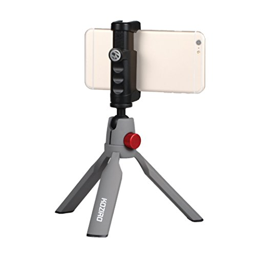 Kamerar Universal Smartphone Mini Tripod Kit with Adjustable Rig ミニ三脚キット (グレー)